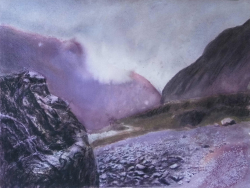 painting of big_rock_franz_josef_valley