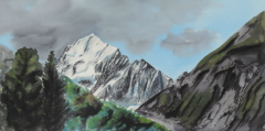 painting of Aoraki/Mt Cook