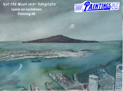 Not the Moon Over Rangitoto