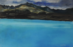 painting of lake_pukaki_ii